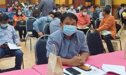 ประชุมทบทวนยุทธศาสตร์การพัฒนาขององค์กรปกครองส่วนท้องถิ่นในเขตจังหวัด