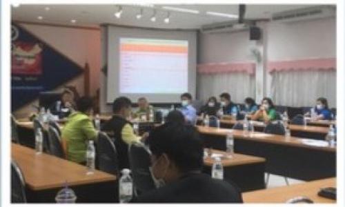 ประชุมคณะกรรมการโรคติดต่อ จังหวัดอุบลราชธานี ครั้งที่ 14/2564